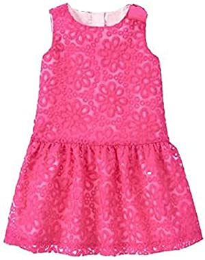 Toddler Girl Fuchsia Organza Dress