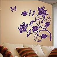 Decals Design 'Vine Flower' Wall Sticker