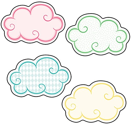 Up and Away Clouds Mini Cut-Outs