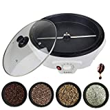 Coffee Roaster,Household Stainless Steel Electric Drum Type Rotation Coffee Roaster - 220V/ 1200W