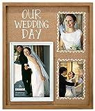 wedding picture frames - Malden International Designs Burlap Wall Sentiments Silkscreened