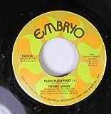 HERBIE MANN 45 RPM PUSH-PUSH PART II / PUSH-PUSH PART I