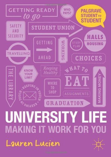 University Life: Making it Work for You (Palgrave Student to Student) by Lucien, Lauren (September 4, 2012) Paperback