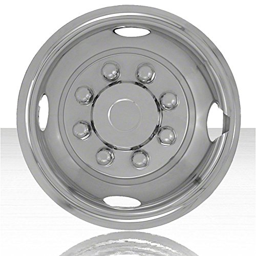- Upgrade Your Auto Single Front 16' Polished Stainless Steel Wheel Simulators (Push-on)