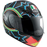 AGV K3 46 Full Face Motorcycle Helmet (Multicolor, X-Large)