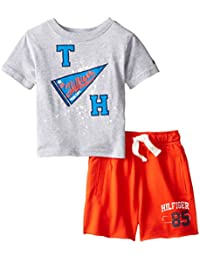 Baby Boys' Graphic Tee and Short Set
