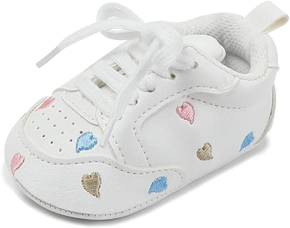 BBKING SHOES Fashion Sneaker for Kids Boys and Girls White Shoes fit Sport Running Walking