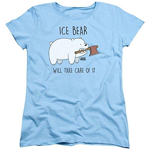 Trevco We Bare Bears Take Care Of It Women's T Shirt
