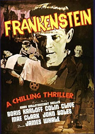 Image result for frankenstein poster
