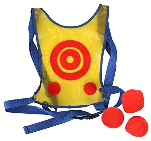Los niños escuela Jugar Active Dodge etiqueta Chaleco Target Toss juego Incluir 6bolas
