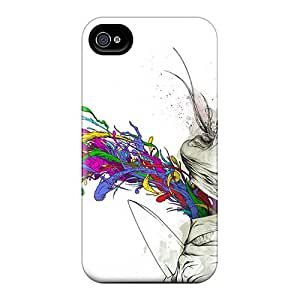 AnnaDubois Iphone 4/4s Excellent Cell-phone Hard Cover Customized Trendy Alex Pardee Pictures [KUX18156wCHW]