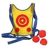 Children School Play Active Dodge Tag Vest Target Toss Game Include 6 Balls