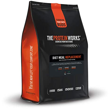 The Protein Works High Protein Diet Meal Replacement Shake Banana Smooth 2 Kg