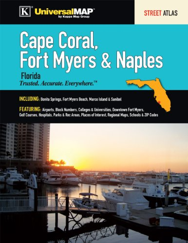 Cape Coral, Fort Myers & Naples, FL Street Atlas