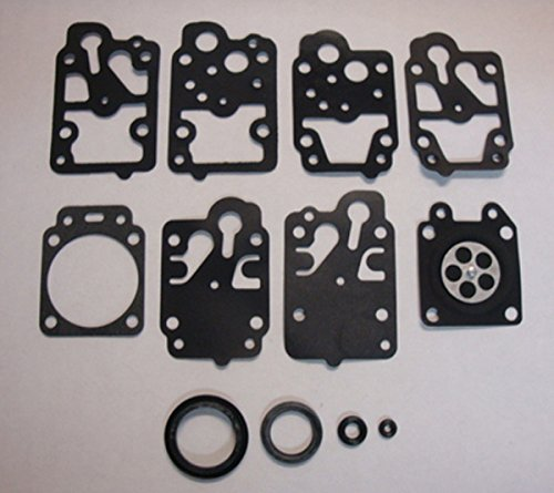 Stens 615-854 OEM Gasket and Diaphragm Kit, Replaces Walbro: D10-WY, Fits Walbro: WY carburetors, Not compatible with greater than 10% ethanol fuel ()