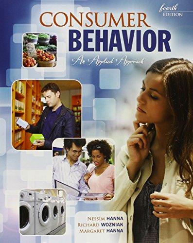 Consumer Behavior: An Applied Approach