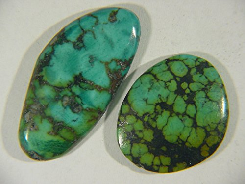 Genuine Natural Chinese Turquoise Lapidary Freeform Cabochon 9491C h