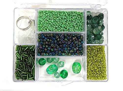 - Linpeng Jewelry Making DIY Beads Set, Green
