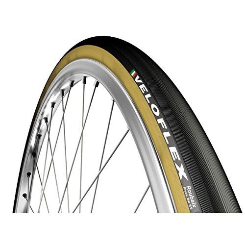 (VeloFlex Roubaix Tubular Road Bicycle Tire (Black - 28in x 25))