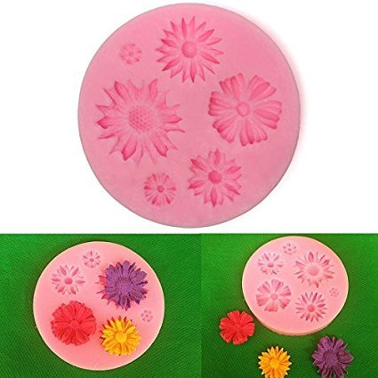 Flower Silicone Mold Sugar Craft Cake Decorating Fondant Mold