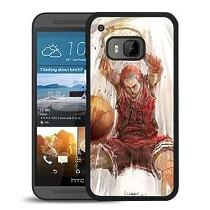 Fashion Designed SLAM DUNK 5 Black HTC ONE M9 Phone Case