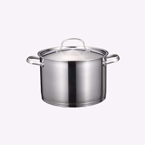 Axxiu Ollas de cocina Sartenes Sopa Olla de cocción 24Cm ...