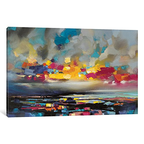 Icanvasart Snh80 Particles Ii Gallery Wrapped Canvas Art Print By Scott Naismith 12 X 0 75 X 18 Shefinds
