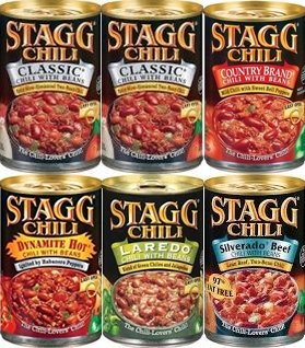 Stagg Canned Chili