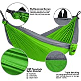 Camping Hammock, LAX Portable Double Durable