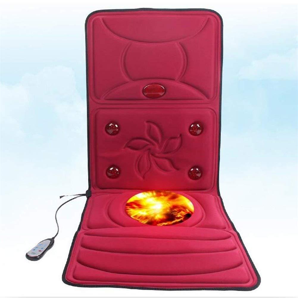 Dbtxwd Masaje eléctrico colchón Cuerpo Completo Terapia de ...