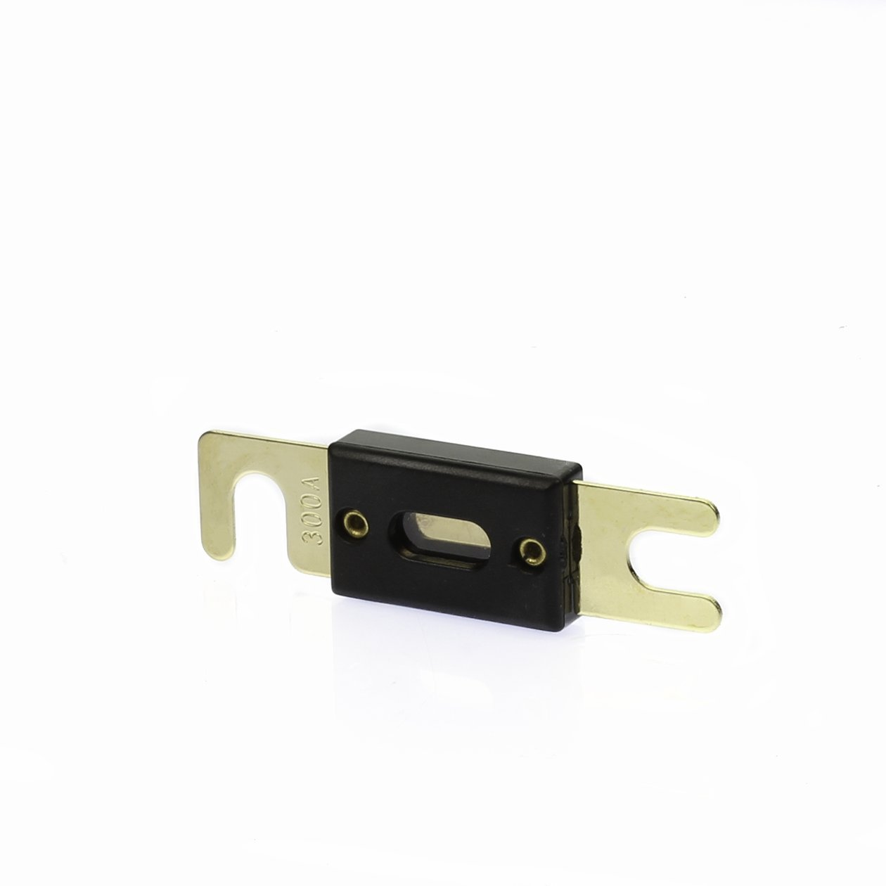 VOODOO Digital ANL Fuse - Gold Holder 1/0 0 Gauge w/ 45 Deg Angled Cover W/Fuse (300 AMP)
