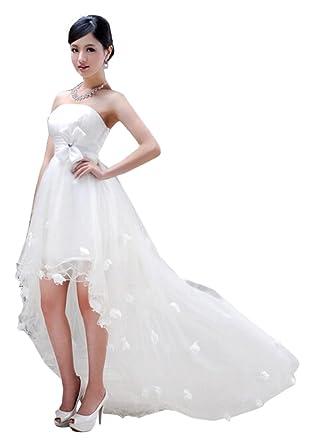 e094bd7a97b1e  ノーブランド品  ウェディングドレス ドレス Aライン プリンセス スレンダー エンパイア ウエディングドレス ブライダル