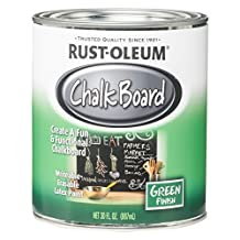 Rust-Oleum 206438 Chalkboard Brush-On, Green, 30-Ounce