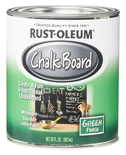 Rust-Oleum 206438 NCF Chalkboard Paint, 30 oz, Green -