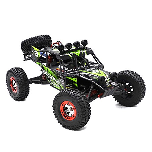 Rtr Esc Electric Rc Truck (Tecesy RC 4x4 Racing Car Eagle-3 1/12 Scale 25+MPH Desert RC Buggy Off-Road Truck Electric RC Crawler RTR)