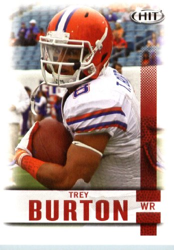 2014 SAGE HIT Football Card #8 Trey Burton Mint