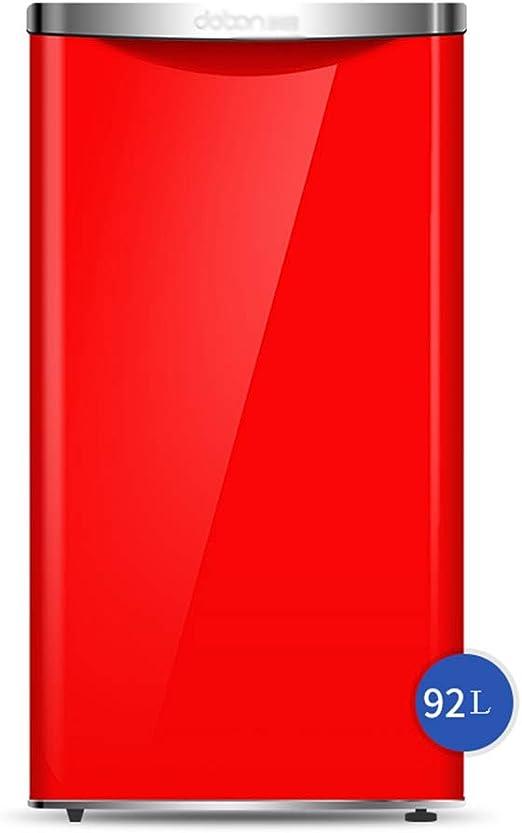 refrigerador de una Puerta, congelador, 92L, hogar Retro pequeño ...