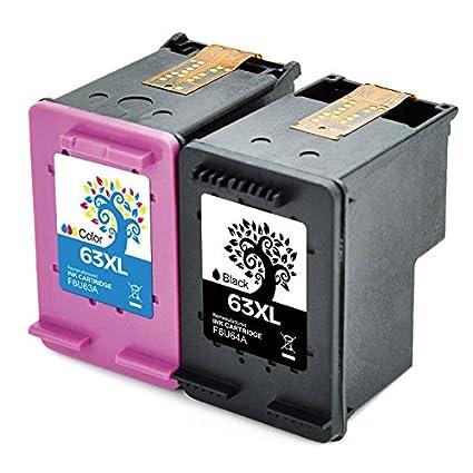 H & Bo remanufacturados 63 x l Cartucho de tinta de alto ...