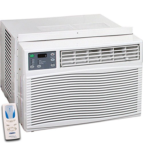 Thermocore T1-WAC-12HCP 12,000 BTU Window Air Conditioner, Heat Pump and Heater with Remote Control, 4 Fan Speed Options, 4-way Directional Louvers, Loss of Power Protection with Auto-restart, 24 Hour Timer, 220VAC (Ac With Heat Pump compare prices)