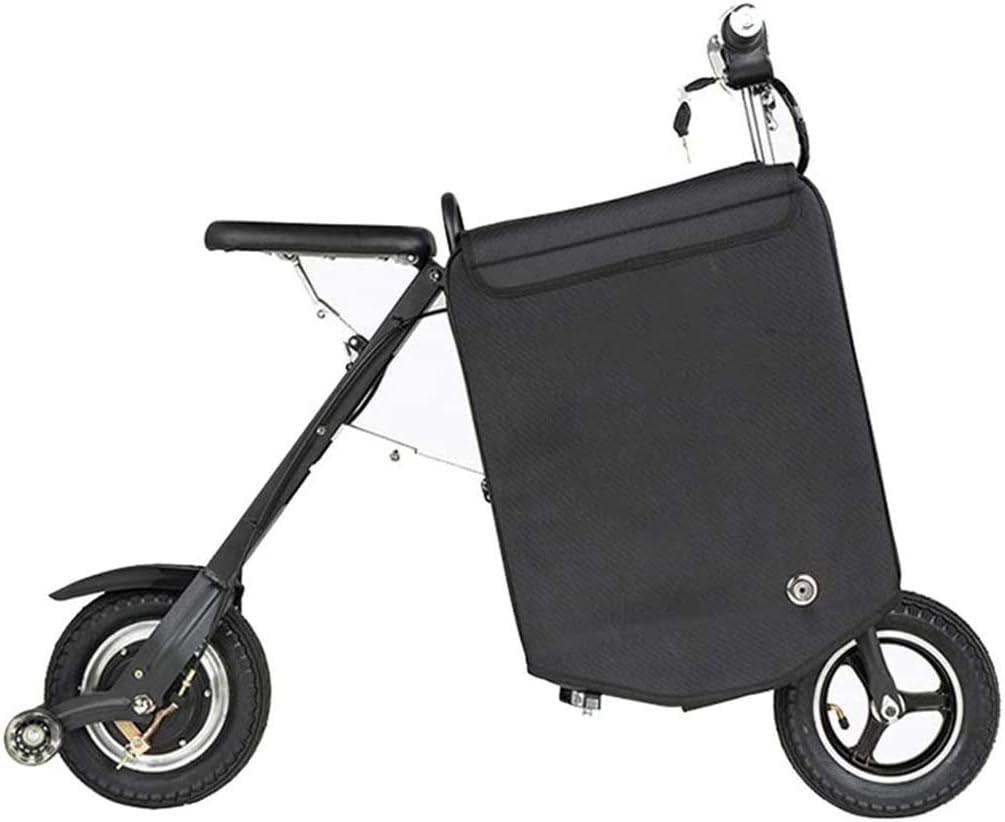 JXH 10in 36V eléctrica Plegable Maleta Madre Coche Y Pequeño portátil Trolley Trolley de Bicicletas eléctricas, 250W de Alta del Motor del Cepillo, Conveniente para diversas Ocasiones