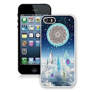 BINGO best quality Dream Catcher Nebula iPhone 5 5S Case White Cover
