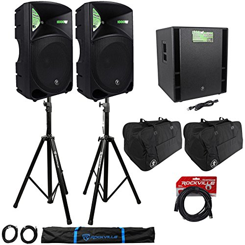 Mackie Thump15 Speakers Thump18s Subwoofer
