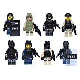 SWAT team mini figures building blocks 8pcs v.2