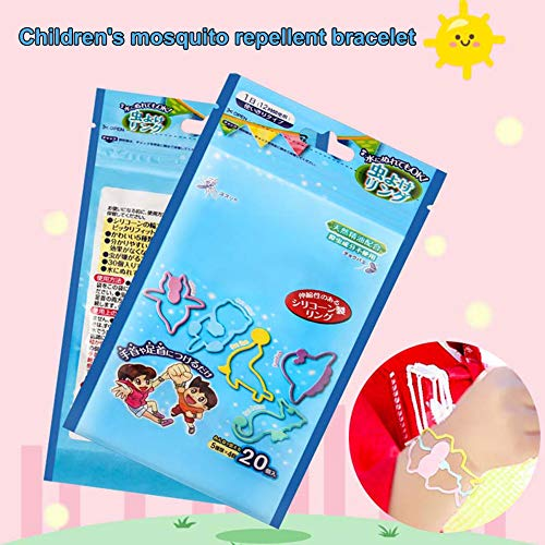 Finance Plan Hot 20Pcs Silicone Anti Mosquito Safe Insect Repellent Bracelet Baby Kids Wrist Band