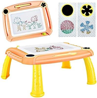 TTMOW Pizarras Magica Infantil Colorido con Pluma, Grande Color ...