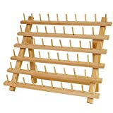 Arts & Crafts : US Art Supply Premium Beechwood 60-Spool Sewing & Embroidery Thread Rack