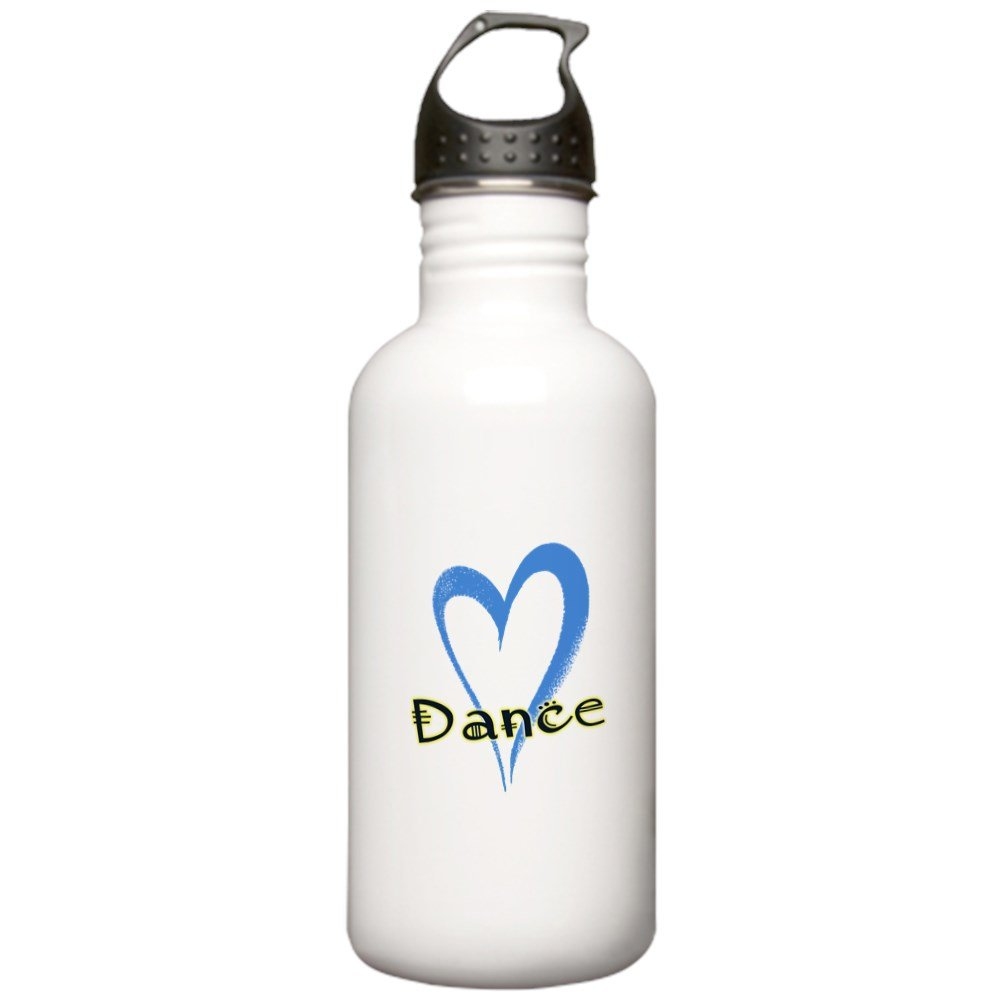 CafePress - Dance Heart Water Bottle - Stainless Steel Water Bottle, 1.0L Sports Bottle