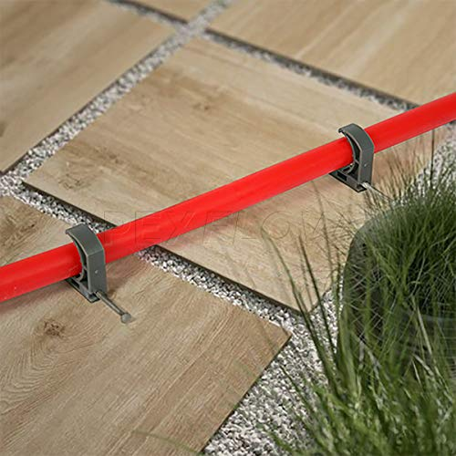 Pexflow PFR-R1100 Oxygen Barrier PEX Tubing for Hydronic Radiant Floor Heating Systems, 1 Inch x 100 Feet, Red by PEXFLOW (Image #9)