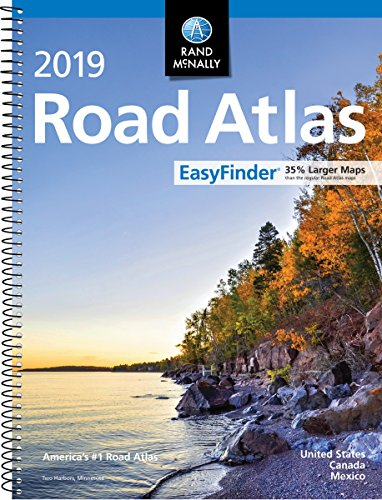 2019 Rand McNally EasyFinder® Midsize Road Atlas cover