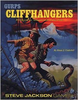 Book Gurps Cliffhangers by Brian J. Underhill (1989-12-02)